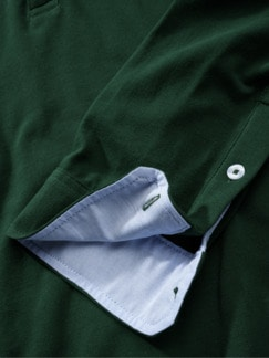 Plus-Polo jägergrün Detail 4