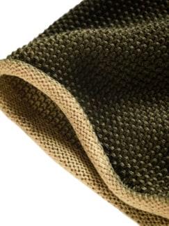 Schmirgel-Pullover ocker Detail 4