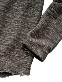 Eskalation-Longsleeve taupe Detail 4