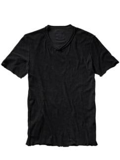 Frottee-Shirt Pi35sa schwarz Detail 1