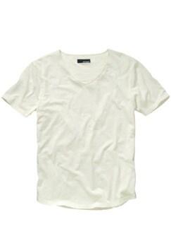 130-Gramm-Shirt hellgrau Detail 1