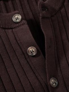 Sixties-Strickhenley braun Detail 3
