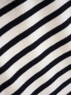 Pullover Rochefort Streifen weiß/blau Detail 4