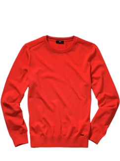 Pullover Cidavid knallorange Detail 1