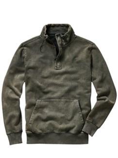 SUP-Sweatshirt sandwashed grey Detail 1