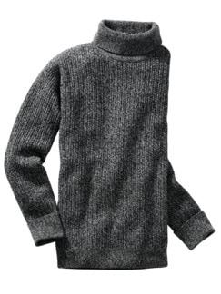 Tom-Crean-Pullover schwarz/weiß Detail 1