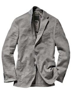 Luxus-Knittersakko grau Detail 1