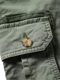Frachtgut-Cargo-Shorts seegras Detail 4