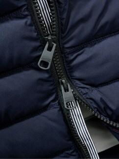 Ohne-Daunen-Weste Cimatch dunkelblau Detail 4