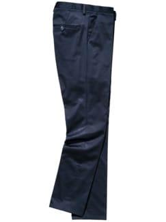 Mitternacht-Anzughose dunkelblau Detail 1