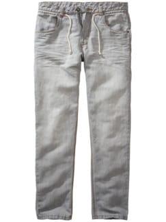 Ibiza-Jeans hellgrau Detail 1