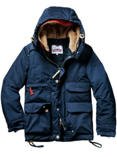 Metro Mountain-Parka royalblau Detail 1