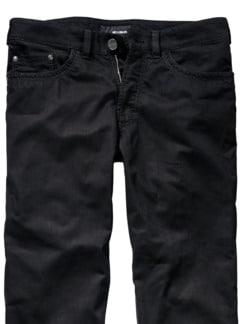 Black Jeans tiefenschwarz Detail 4