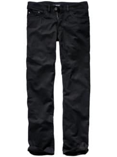 Black Jeans tiefenschwarz Detail 1