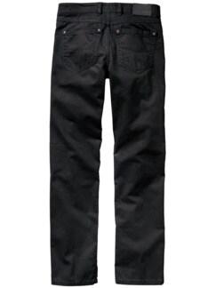 Black Jeans tiefenschwarz Detail 2