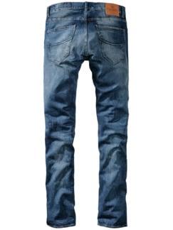 Blue-Jeans indigoblau Detail 2