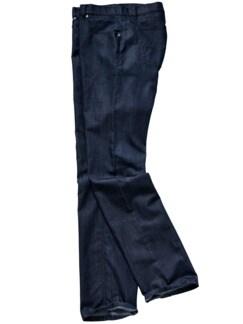 Seiden-Denim-Jeans dark denim Detail 1