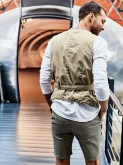 Shorts Iver beige Detail 3