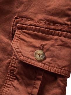 Frachtgut-Cargo-Shorts rost Detail 4