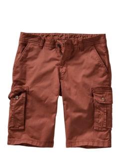 Frachtgut-Cargo-Shorts rost Detail 1