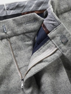 First Impression Pants grau meliert Detail 4