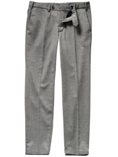 First Impression Pants grau meliert Detail 1