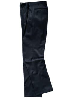 Reda 1865-Anzughose Karo schwarz/tiefblau Detail 1