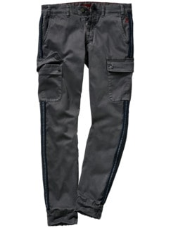 Barb`One Chino Pitt grau Detail 1
