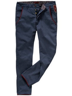 Barb`One Chino Tony navy Detail 1