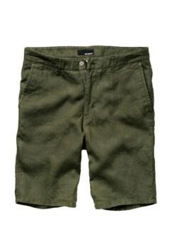 Flachs-Shorts khaki Detail 1