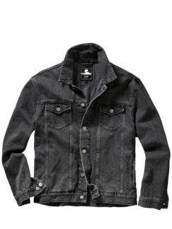 EDWINs Trucker Jacket grau Detail 1