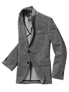 Jersey de Nimes-Sakko grey denim Detail 1