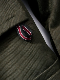 Flap Coat oliv Detail 3
