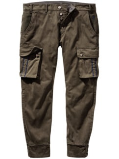 Barb`One Chino New Pitt taupe Detail 1