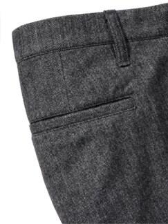Split Trousers anthrazit Detail 3