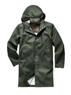 Raincoat Green grün Detail 1