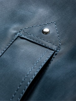 Raincoat Denim blau Detail 3