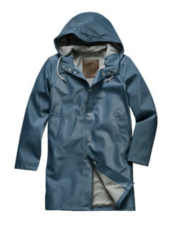 Raincoat Denim blau Detail 1