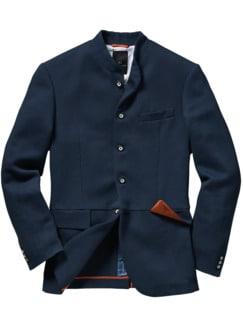Lone-Ranger-Sakko tiefblau Detail 1