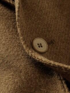 Karamellsakko karamellbraun Detail 4