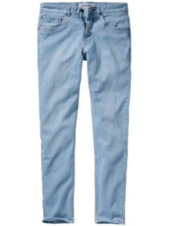 Organic Candiani Denim light blue Detail 1