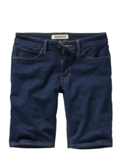 Organic Candiani-Shorts deep dark denim Detail 1
