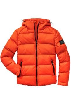 Polar-Jacke mango Detail 1