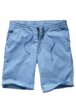 Gutes-Gefühl-Shorts hellblau Detail 1