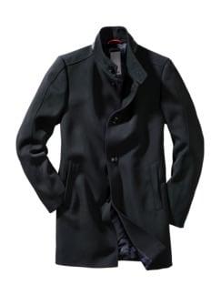 Mantel Cioxford schwarz Detail 1