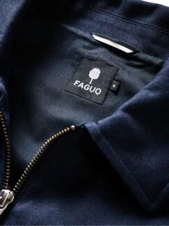 Worker Jacket Bondy tiefblau Detail 3