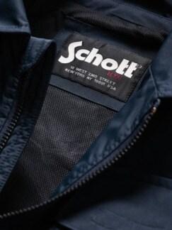 Schott Blouson Jones tiefblau Detail 4