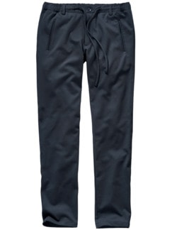 Brillante Joggpants tiefblau Detail 1