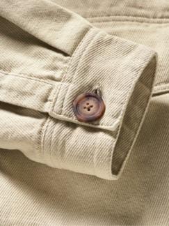 Utility Jacket sand Detail 3