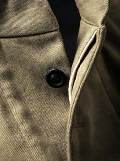 Heritage Jacket schilf Detail 4